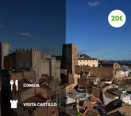 Visita guiada al Castillo de Buñol + Comida